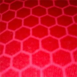 Estampado círculos rojo